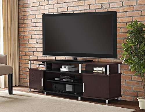Carson Tv Stands In Black And Cherry Intended For Widely Used Altra Carson Tv And Gaming Stand For Tvs Up To 70 Inch (View 1 of 10)