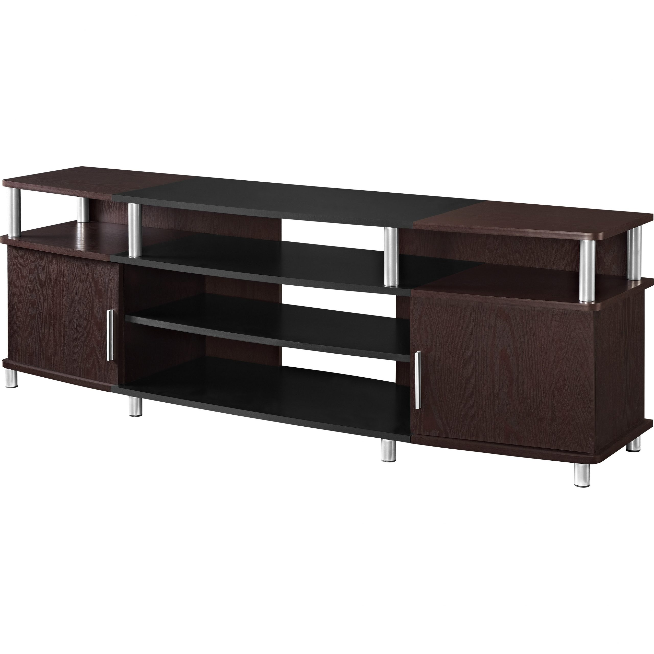 Carson Tv Stands In Black And Cherry With Fashionable Altra Carson Tv Stand & Reviews (View 9 of 10)