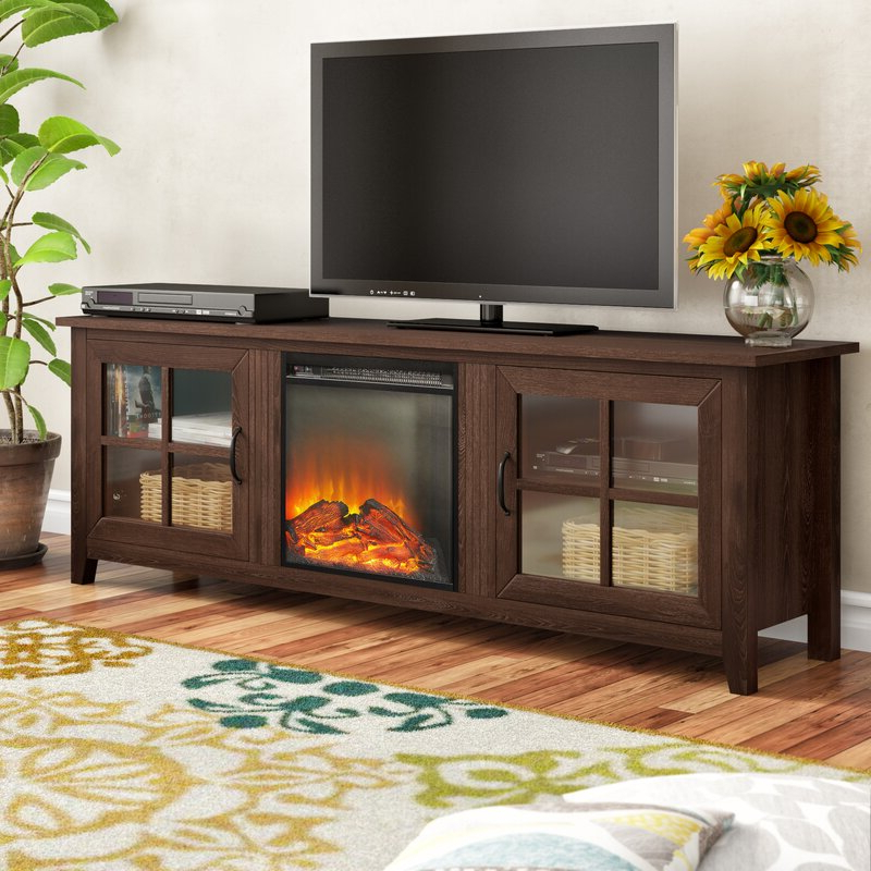"""Charlton Home® Dake Tv Stand For Tvs Up To 78"""" With Within Trendy Grandstaff Tv Stands For Tvs Up To 78"""" (View 8 of 25)"""