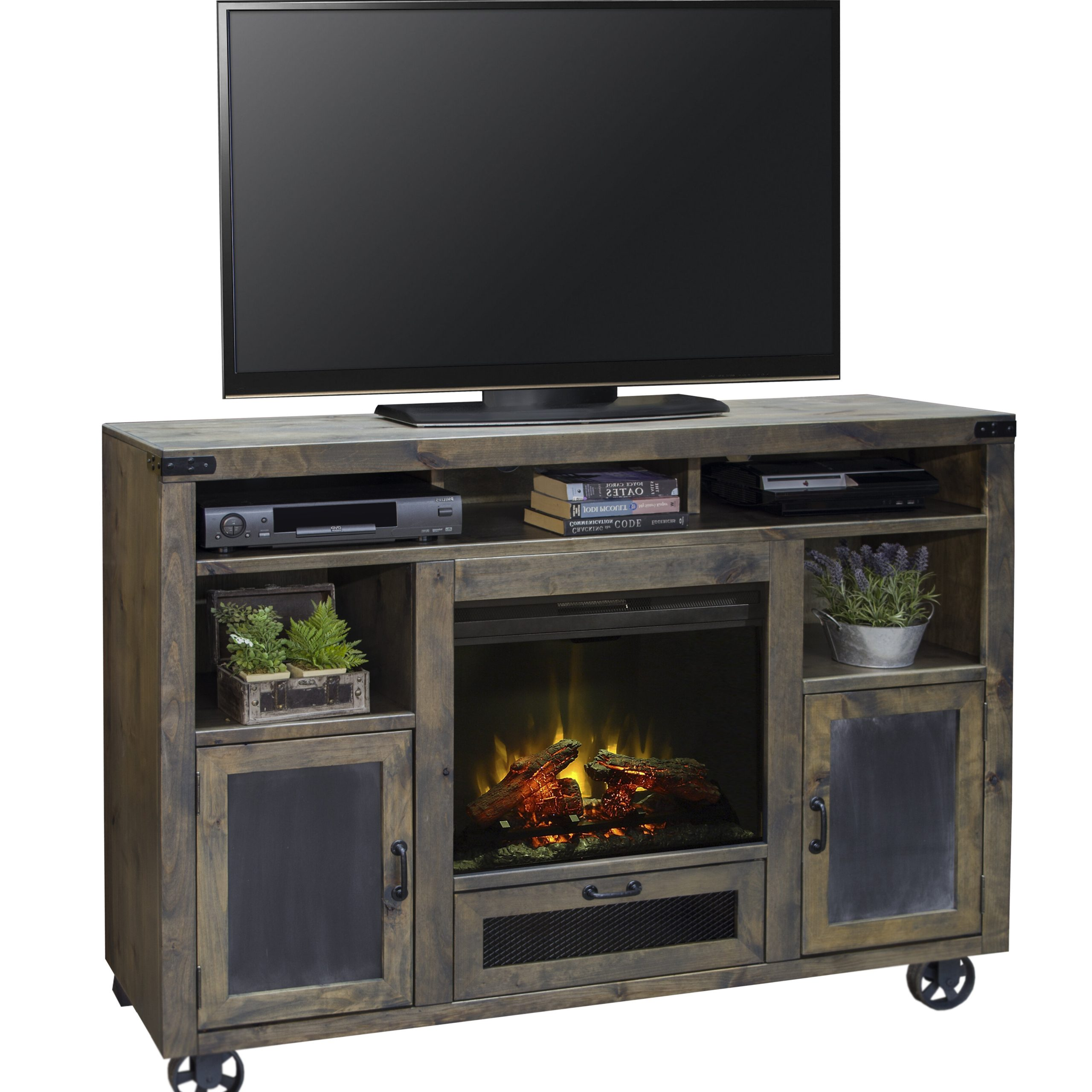 """Chicago Tv Stands For Tvs Up To 70"""" With Fireplace Included With Regard To Recent Fireplace Tv Stand 70 Inch – Ideas On Foter (View 3 of 25)"""