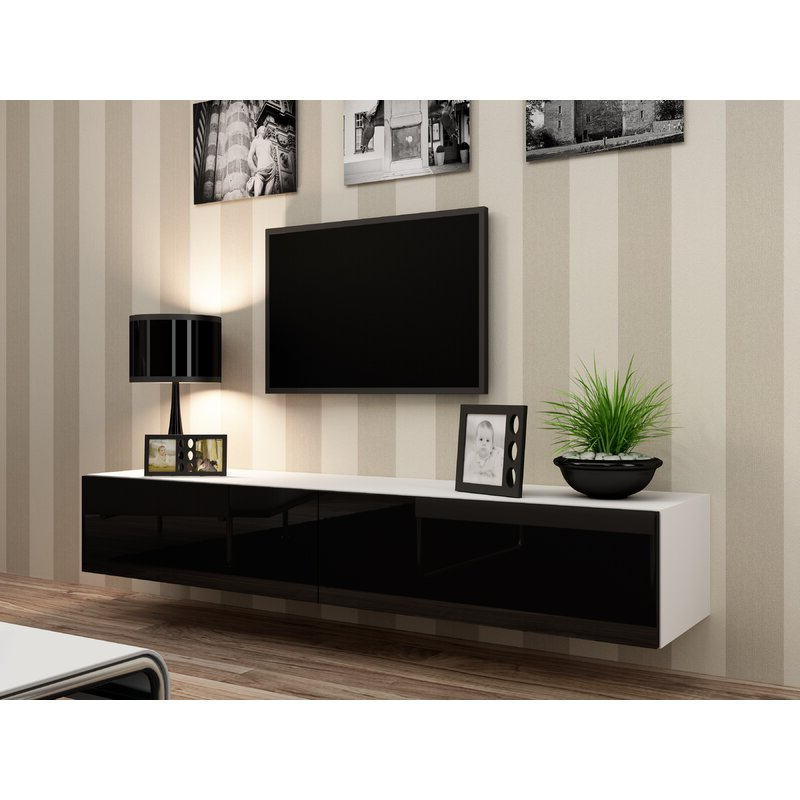 """Chrissy Tv Stands For Tvs Up To 75"""" Within Best And Newest Orren Ellis Lesterny Floating Tv Stand For Tvs Up To  (View 17 of 25)"""