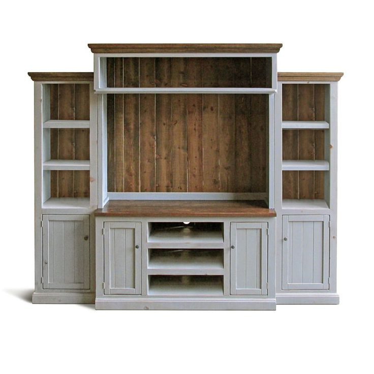 Compton Ivory Extra Wide Tv Stands In Most Recent Palisades Entertainment Wall (View 19 of 25)