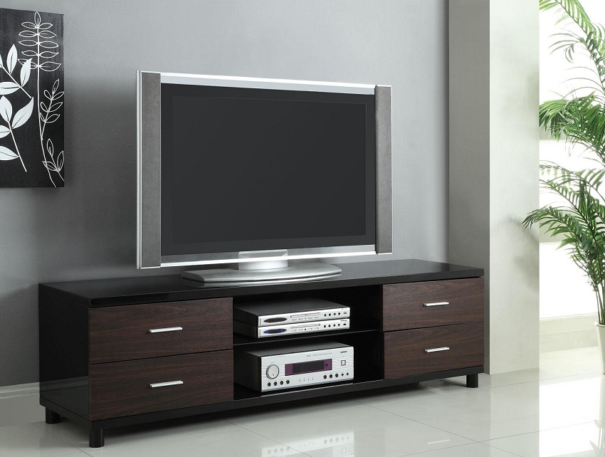 Contemporary Tv Stand Orange County, Contemporary Tv Stand Throughout Recent Modern Black Tabletop Tv Stands (View 9 of 10)