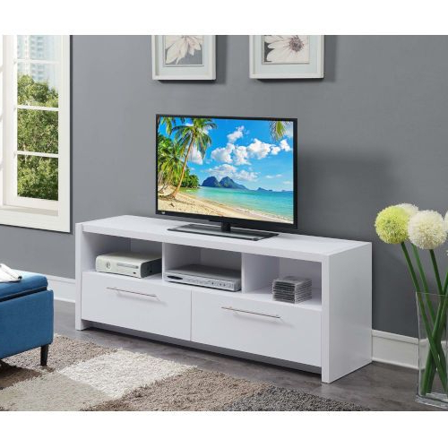 """Convenience Concepts Newport Marbella 60"""" Tv Stands With Regard To Trendy Convenience Concepts 131126w Newport 60 In (View 10 of 10)"""