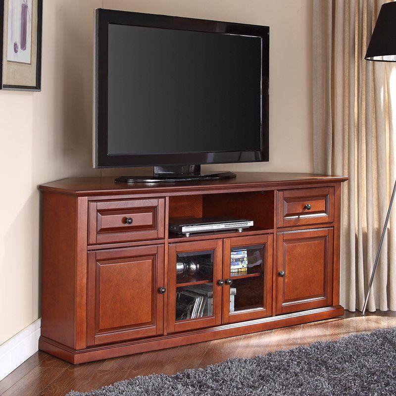 "Corner Tv, Corner Tv Stand, Living Room In Kasen Tv Stands For Tvs Up To 60"" (View 21 of 25)"