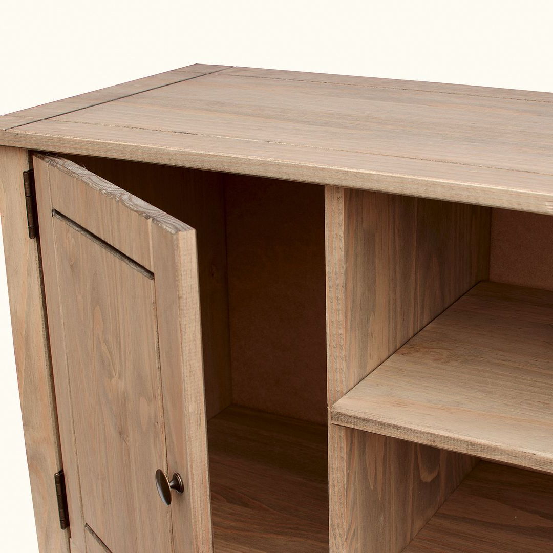 Corona Panama Tv Cabinet Media Dvd Unit Solid Pine Wood Inside Recent Panama Tv Stands (View 12 of 25)