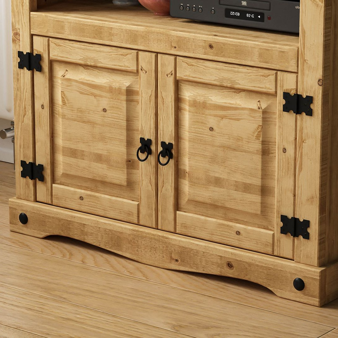 Corona Tv Stands With Regard To Most Recent Corona Tv Unit Entertainment Cabinet Display Storage Stand (View 6 of 10)