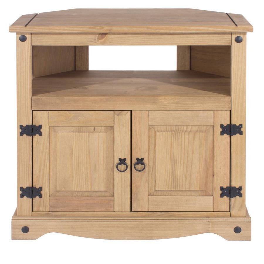 Corona White Corner Tv Unit Stands In Preferred Abdabs Furniture – Corona Pine Corner Tv Cabinet (View 3 of 10)