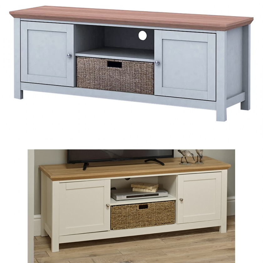 Cotswold Cream Tv Stands Throughout Widely Used Cotswold Living Set – Easy Buy (View 3 of 10)