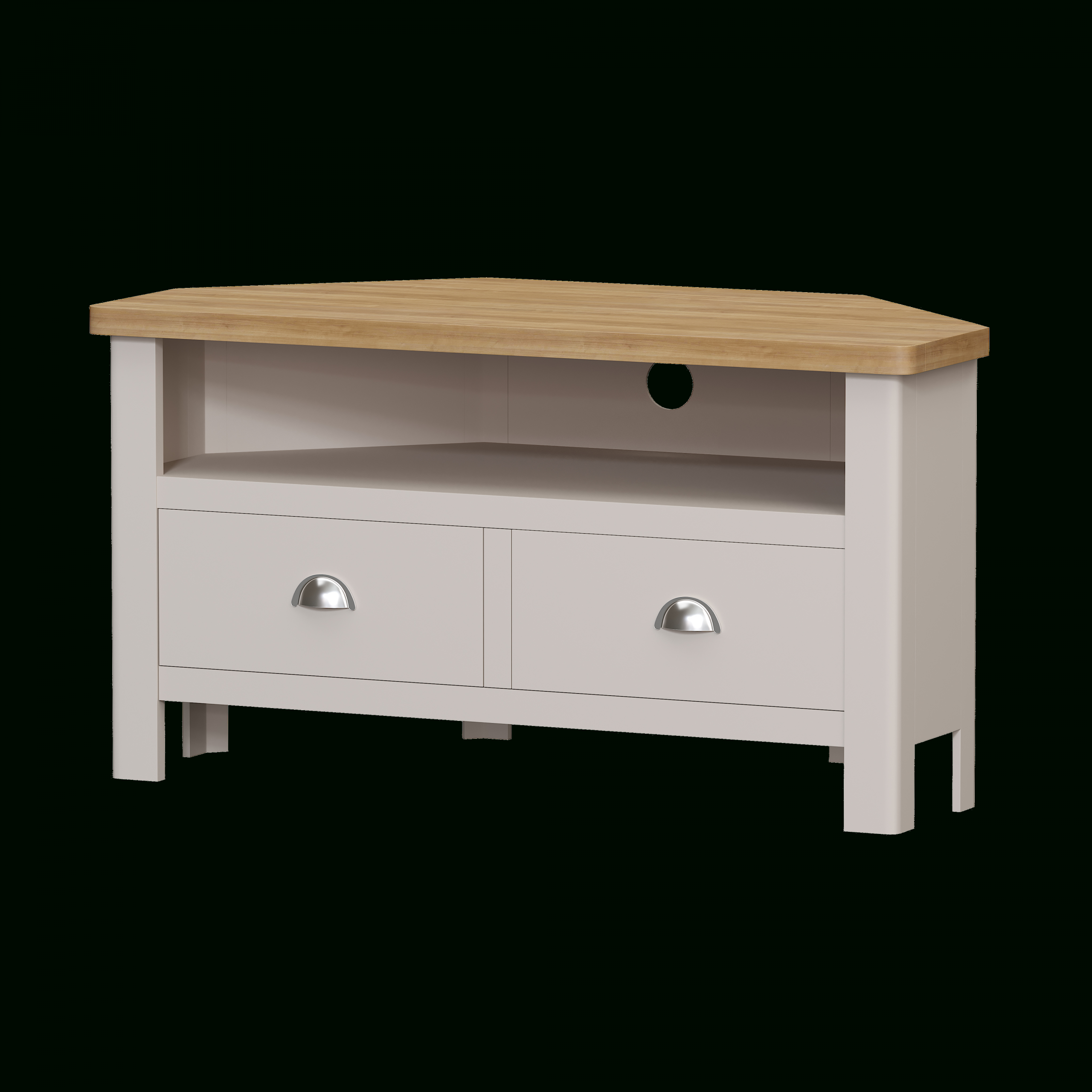 Cotswold Widescreen Tv Unit Stands Pertaining To Well Known Cotswold Corner Painted Living Range (View 7 of 10)