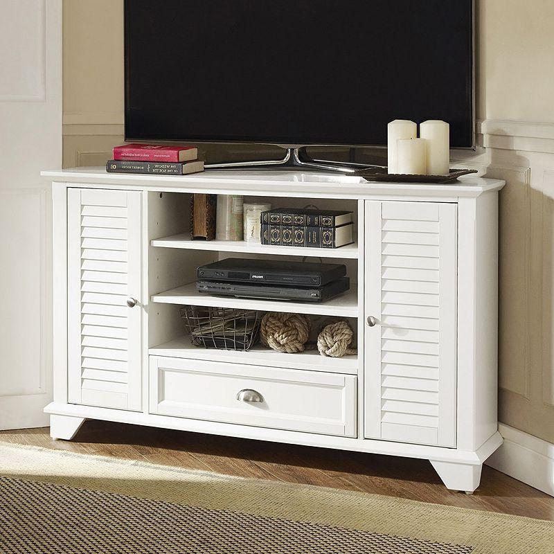 Crosley Furniture Palmetto 50 Inch Corner Tv Stand (View 21 of 25)