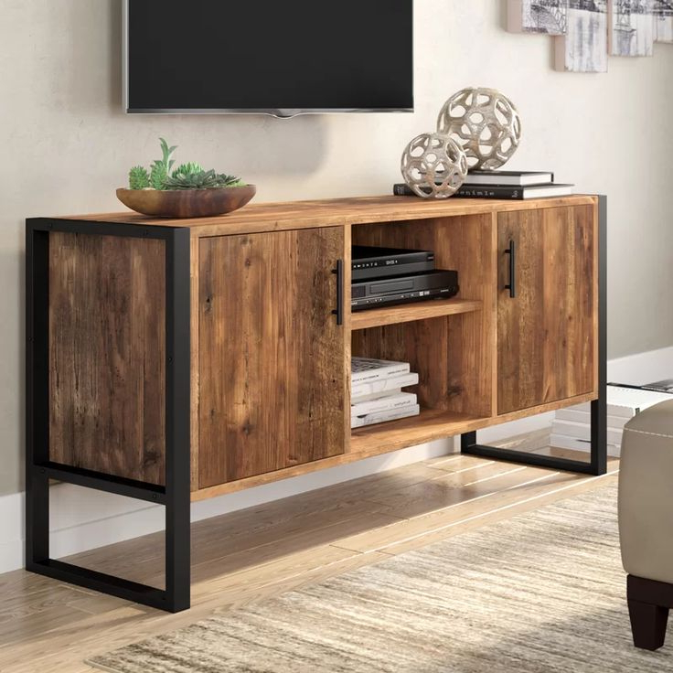 """Current Giltner Solid Wood Tv Stands For Tvs Up To 65"""" Throughout Rochester Tv Stand For Tvs Up To 65"""" In  (View 6 of 25)"""
