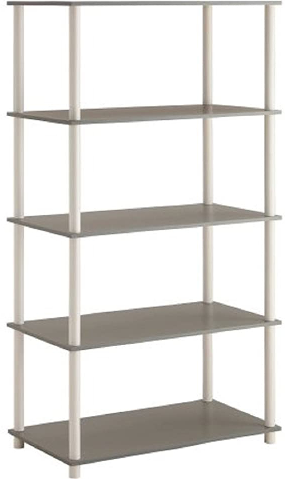 Current Mainstays Payton View Tv Stands With 2 Bins For Amazon: Mainstays No Tools Assembly 8 Cube Shelving (View 5 of 10)