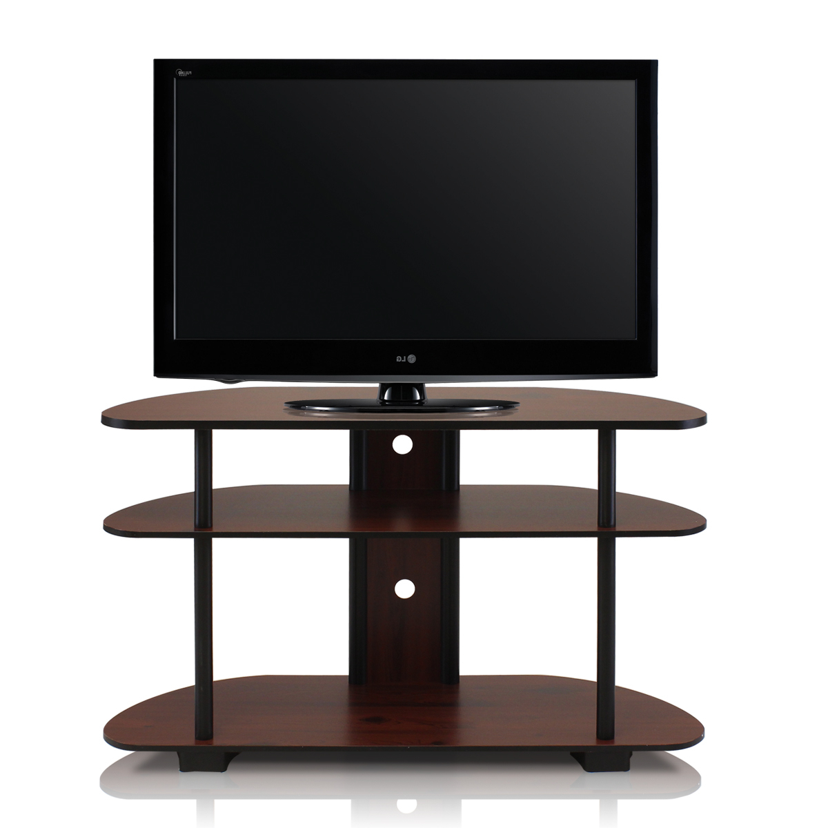 """Current Maubara Tv Stands For Tvs Up To 43"""" For Turn N Tube 3 Tier Tv Stand For Tvs Up To 43"""", Multiple (View 12 of 25)"""