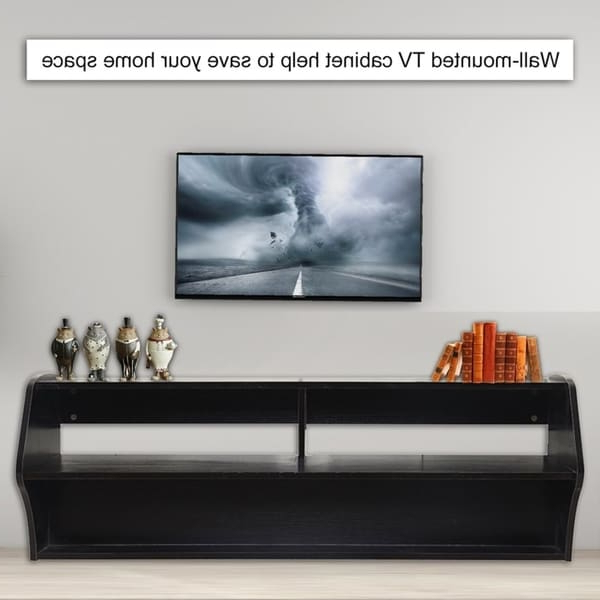 """Current Milano 200 Wall Mounted Floating Led 79"""" Tv Stands Inside  (View 9 of 10)"""