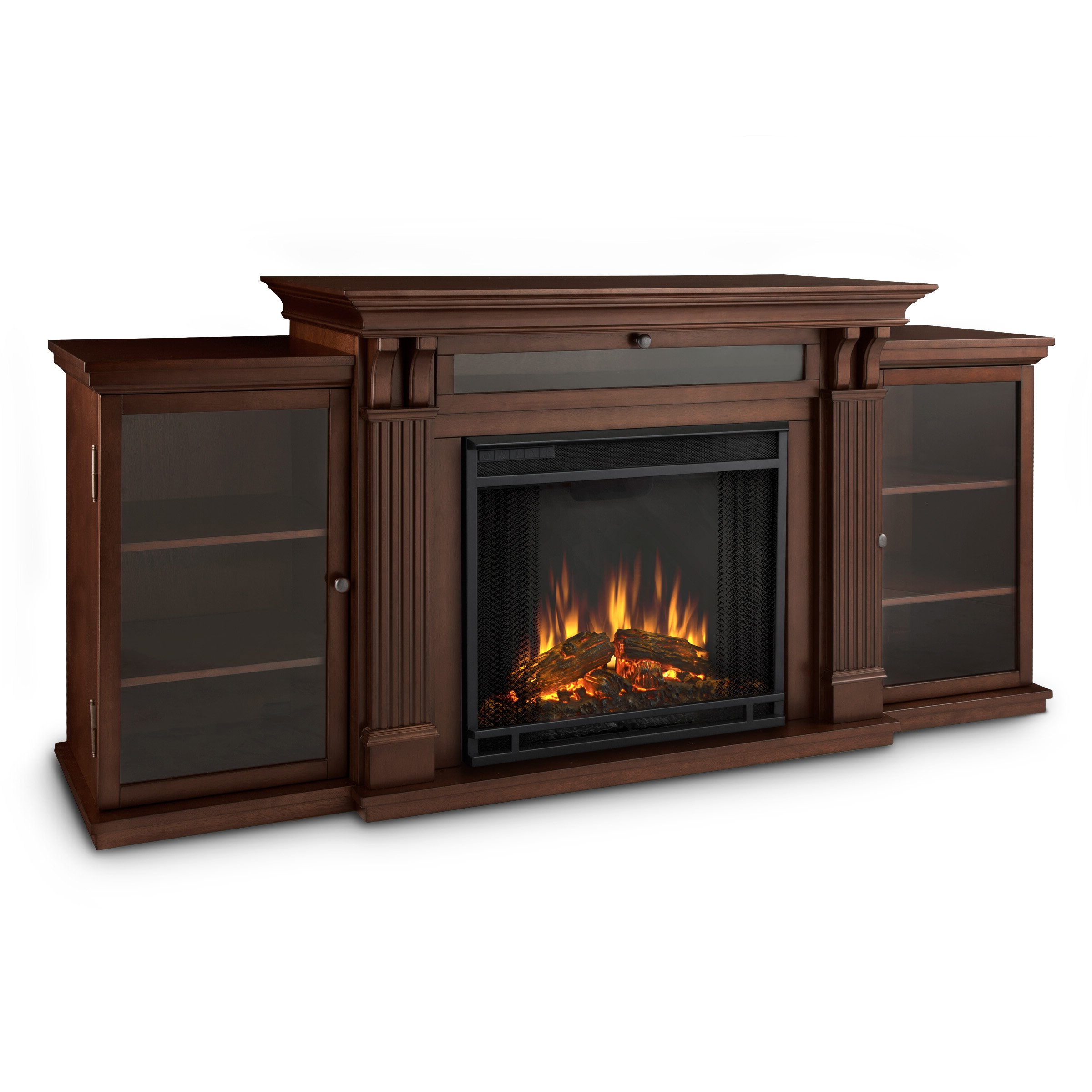 Current Wayfair Electric Fireplace Inside Fulton Wide Tv Stands (View 5 of 10)