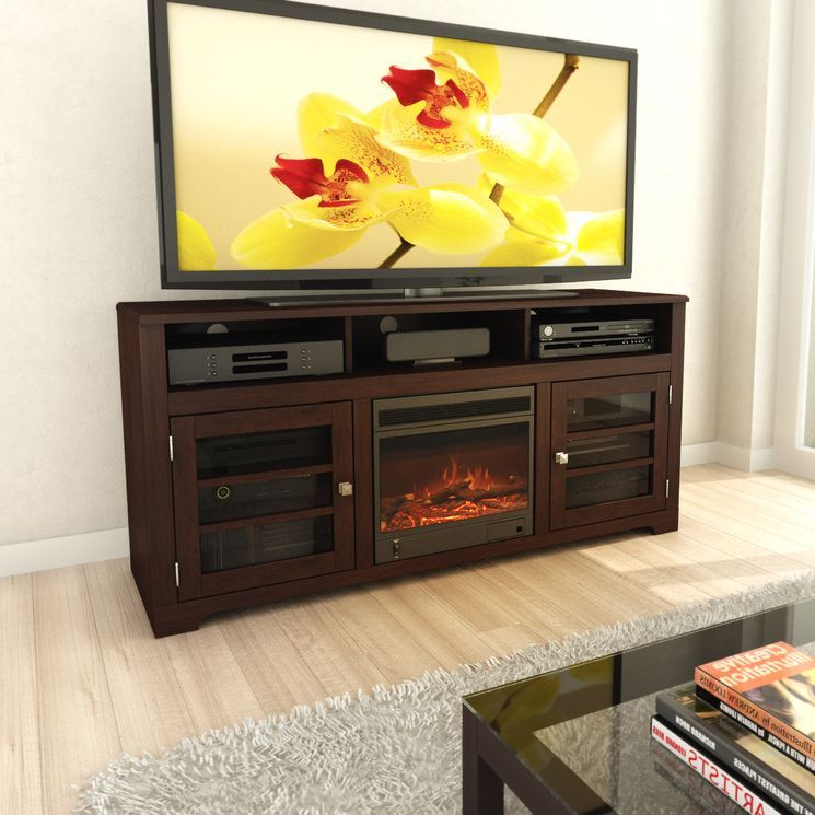 """Current West Lake 60"""" Tv Stand With Electric Fireplace (View 9 of 25)"""