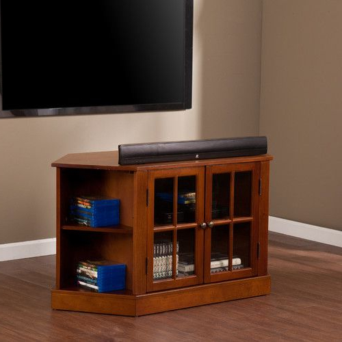 """Darby Home Co® Lasalle 46"""" Corner Tv Stand (View 7 of 25)"""