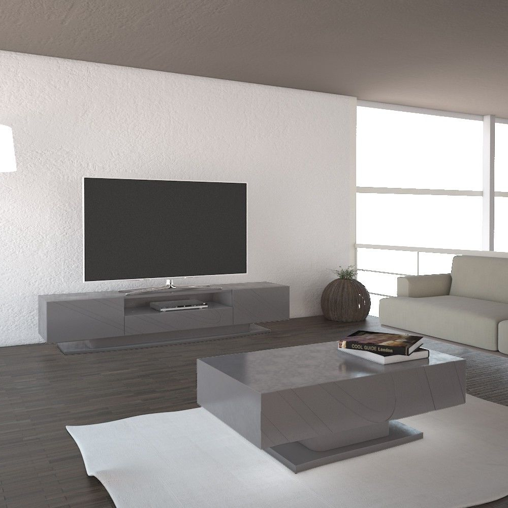 Delphi Grey Tv Stands For Newest Luxury Grey Tv Stand (View 17 of 25)