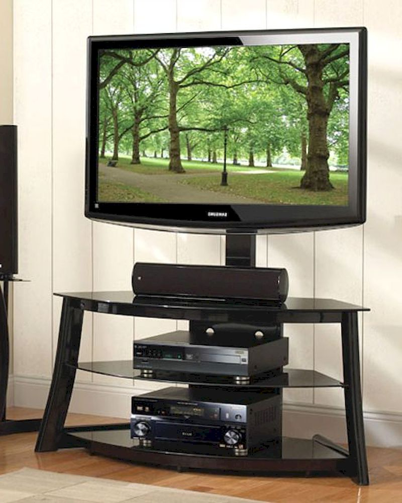 Dillon Black Tv Unit Stands Inside Popular Bello – Black Swivel Tv Stand Be Fp 4858hg (View 4 of 10)