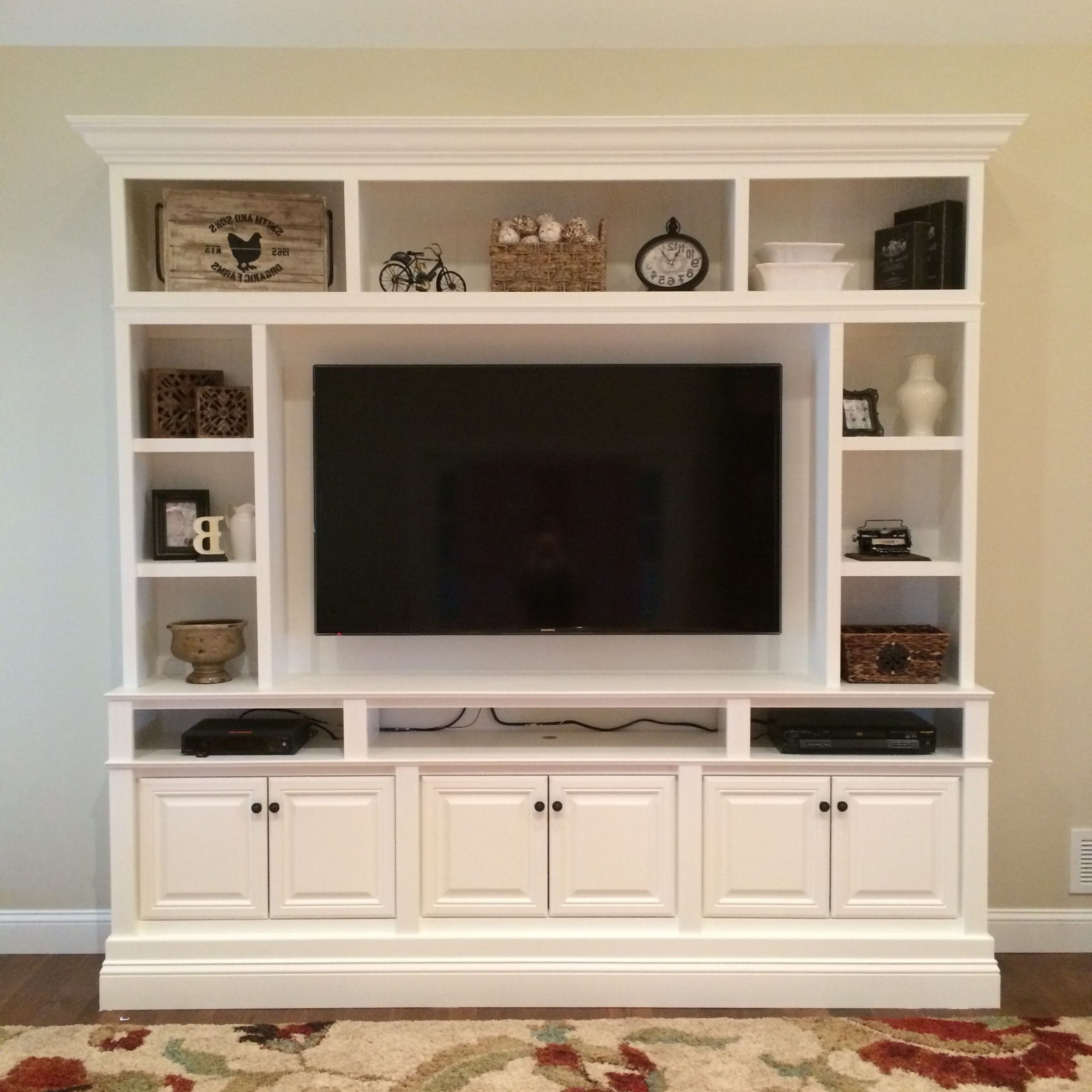 Diy Convertible Tv Stands And Bookcase Regarding Famous 28+ Amazing Diy Tv Stand Ideas That You Can Build Right (View 1 of 10)