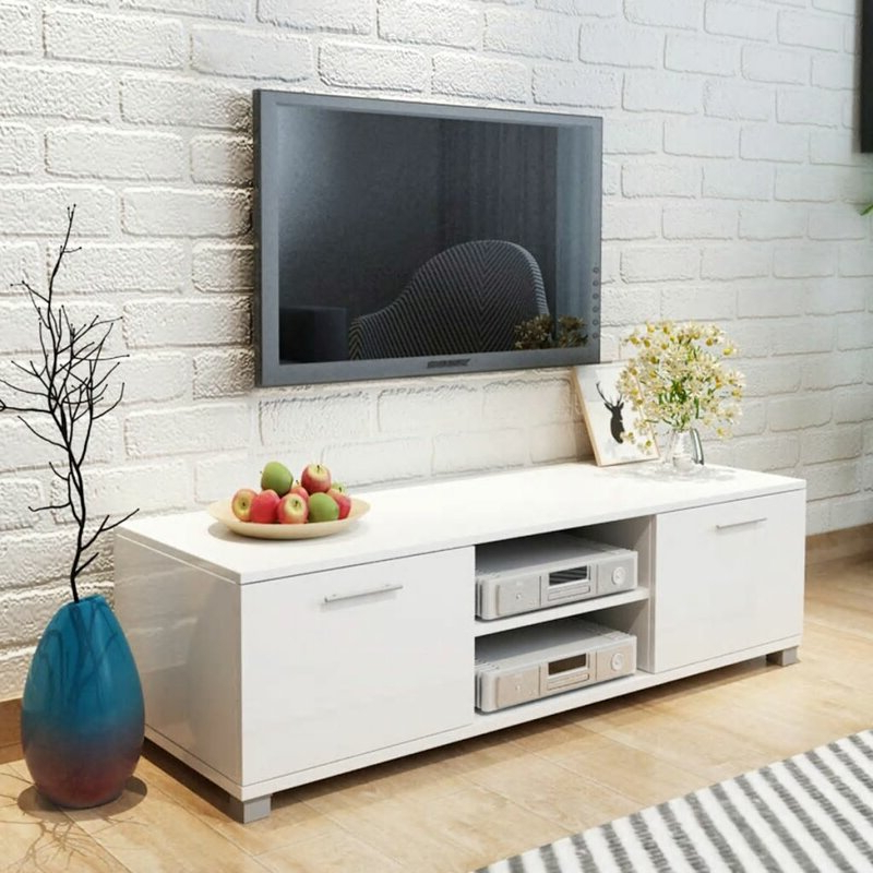 """East Urban Home Tv Stand For Tvs Up To 49"""" (View 25 of 25)"""