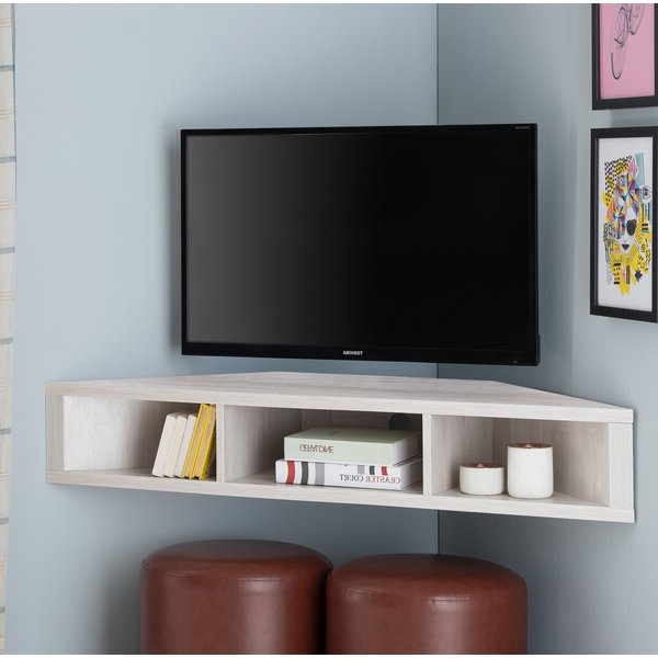 """Ebern Designs Leroux Floating Tv Stand For Tvs Up To 50 Inside Well Liked Aaliyah Floating Tv Stands For Tvs Up To 50"""" (View 22 of 25)"""