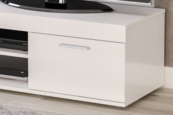 Edgeware Small Tv Unit White – Niture Uk Within Well Known Edgeware Tv Stands (View 5 of 25)