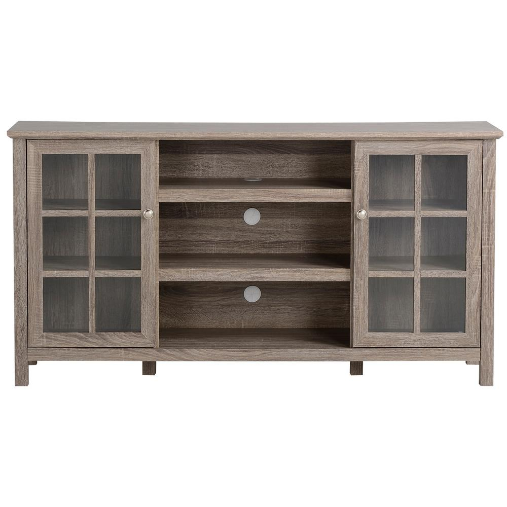 Entertainment Center Tv Stands Reclaimed Barnwood With Well Liked Flamelux Provence Reclaimed Wood Entertainment Center (View 9 of 10)