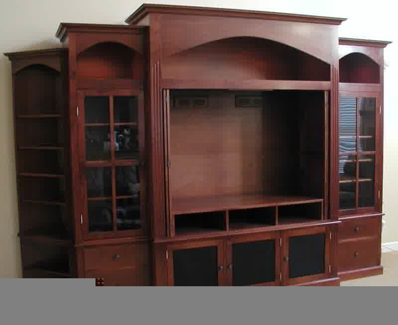Entertainment Center With Doors, Another Choice Of Tv Inside Latest Dark Brown Tv Cabinets With 2 Sliding Doors And Drawer (View 4 of 10)