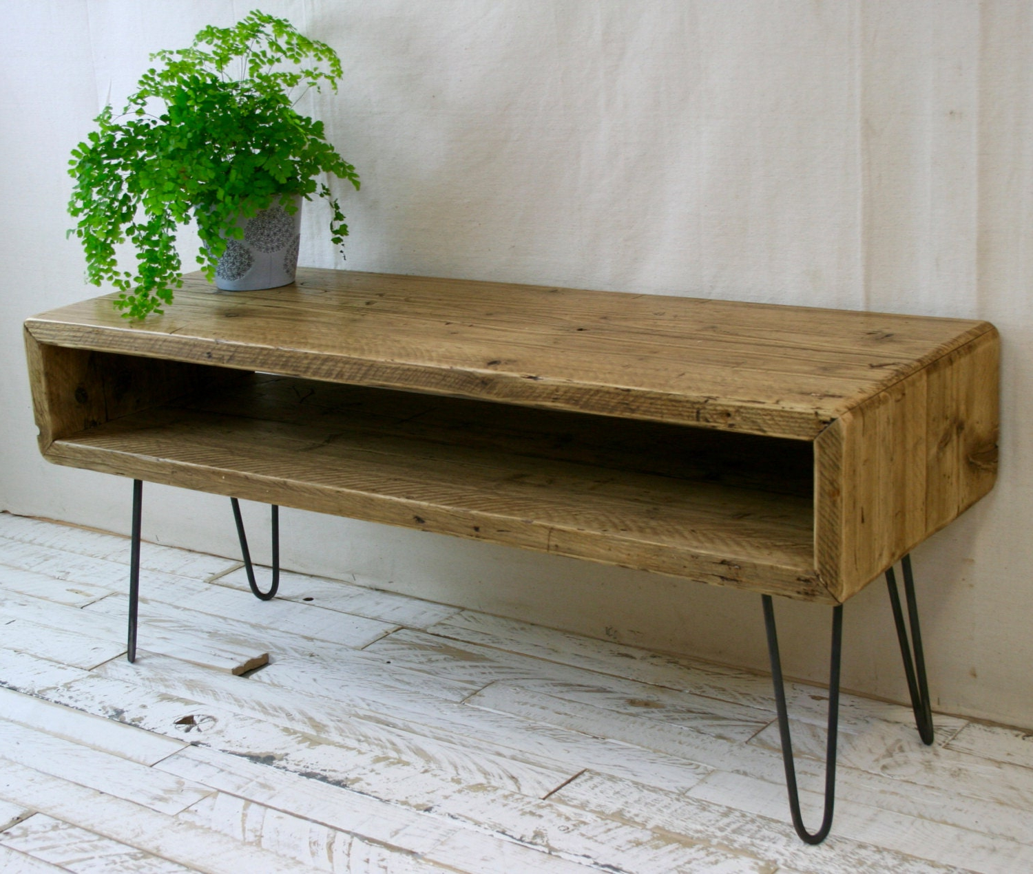 Etsy Regarding Current Industrial Tv Stands With Metal Legs Rustic Brown (View 2 of 10)