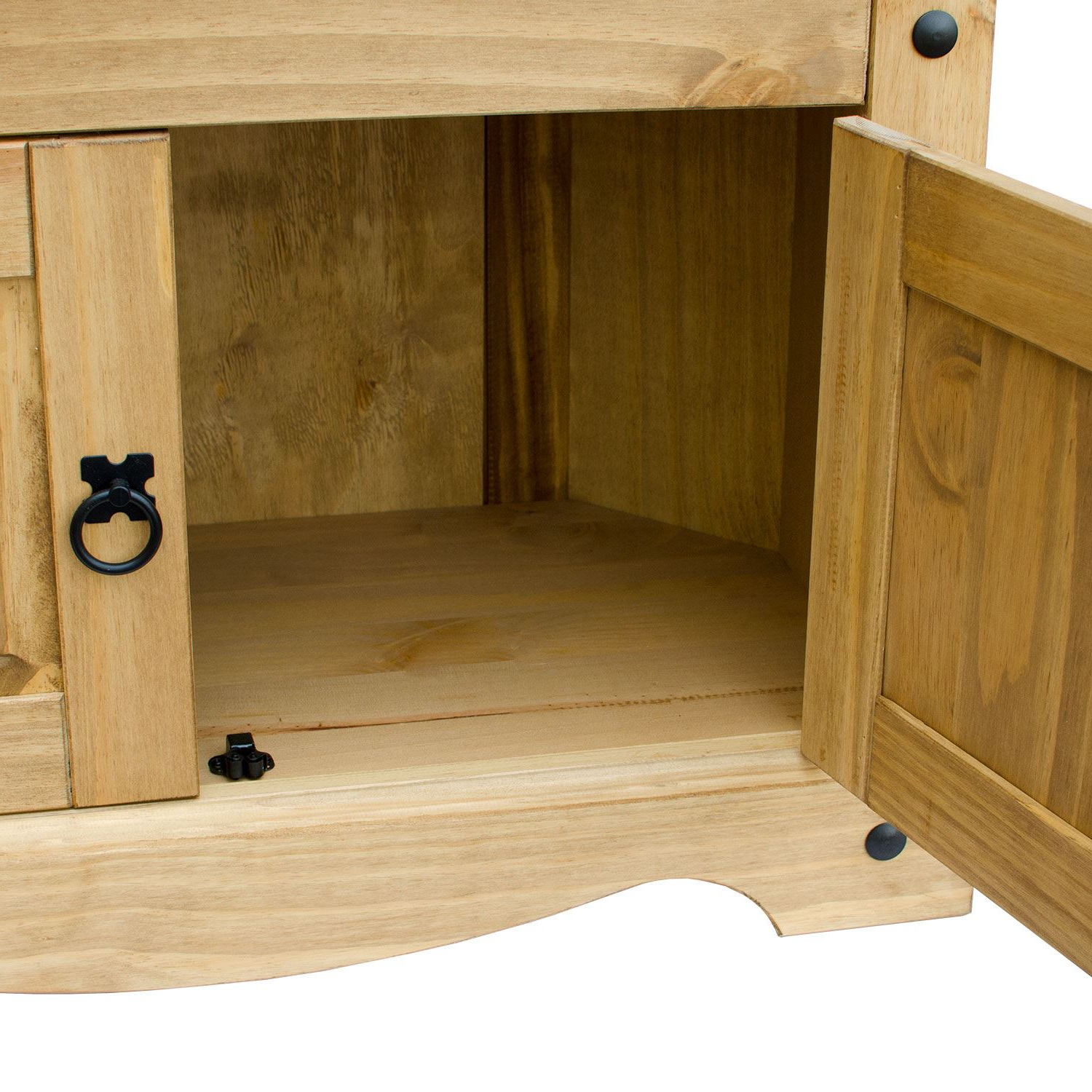 Famous Corona Panama Tv Cabinet Media Dvd Unit Solid Pine Wood With Panama Tv Stands (View 21 of 25)