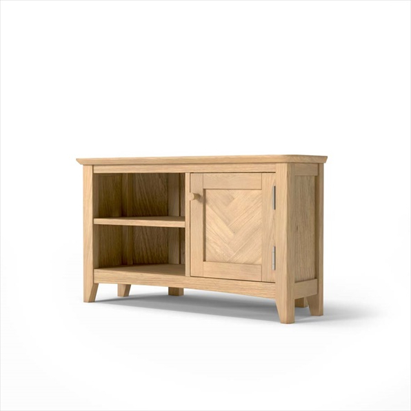 Famous Cotswold Widescreen Tv Unit Stands With Cotswold Oak Corner Tv Unit Buy Online (View 10 of 10)