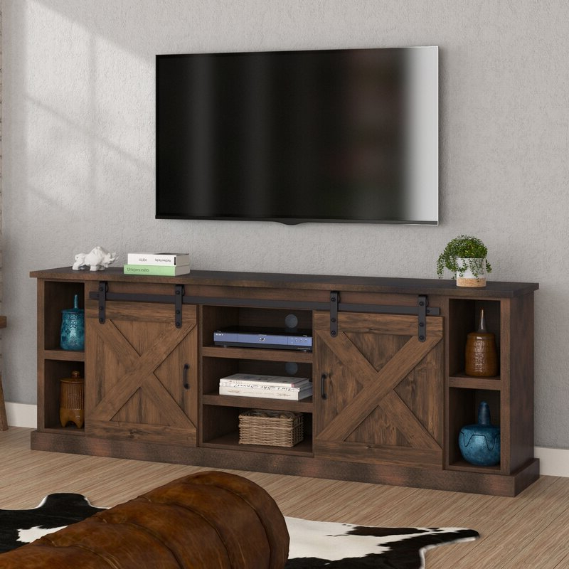 """Famous Gosnold Tv Stands For Tvs Up To 88"""" In Loon Peak® Pullman Tv Stand For Tvs Up To 88"""" & Reviews (View 4 of 25)"""