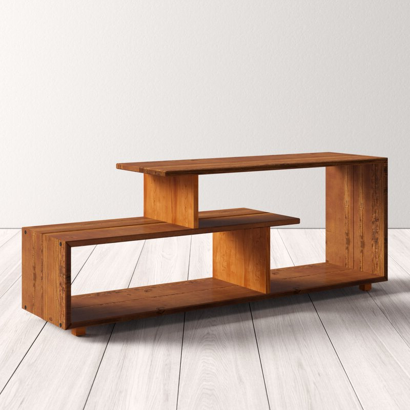 """Famous Jon Solid Wood Tv Stand For Tvs Up To 60 Inches & Reviews Pertaining To Millen Tv Stands For Tvs Up To 60"""" (View 14 of 25)"""