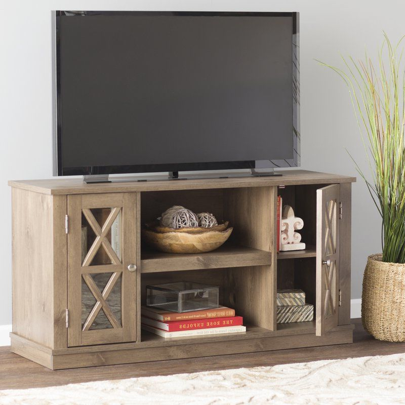 Famous Modern Farmhouse Fireplace Credenza Tv Stands Rustic Gray Finish In This Otto Tv Stand Can Recast Any Room As It Easily (View 5 of 10)