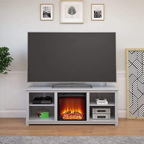 Famous Penelope Dove Grey Tv Stands Pertaining To The Perfect Ameriwood Home Edgewood Tv Console With (View 10 of 10)