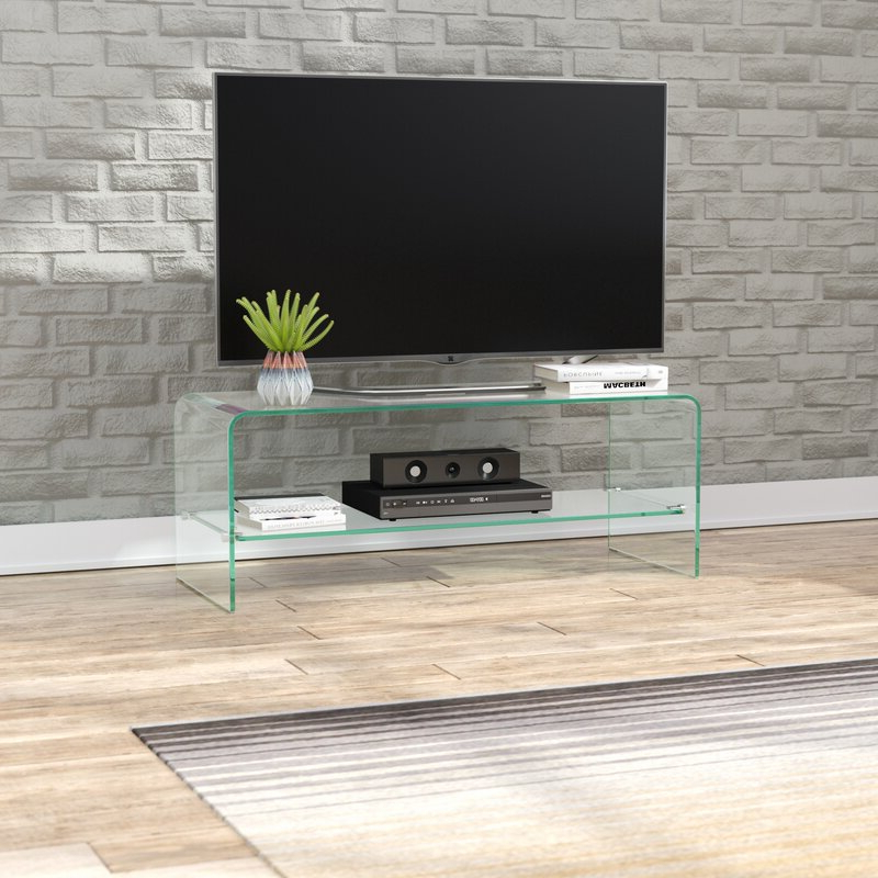 """Famous Wade Logan® Selsey Tv Stand For Tvs Up To 43"""" & Reviews With Orrville Tv Stands For Tvs Up To 43"""" (View 1 of 25)"""