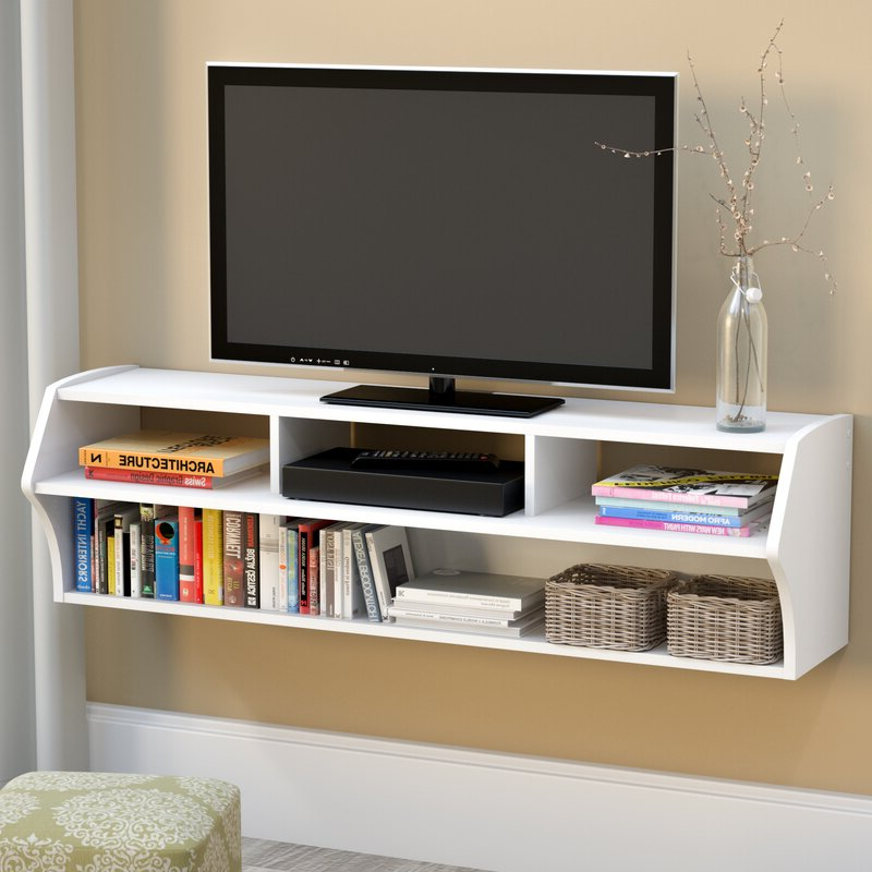 """Famous Winston Porter Carder Floating Tv Stand For Tvs Up To 65 With Ezlynn Floating Tv Stands For Tvs Up To 75"""" (View 11 of 25)"""