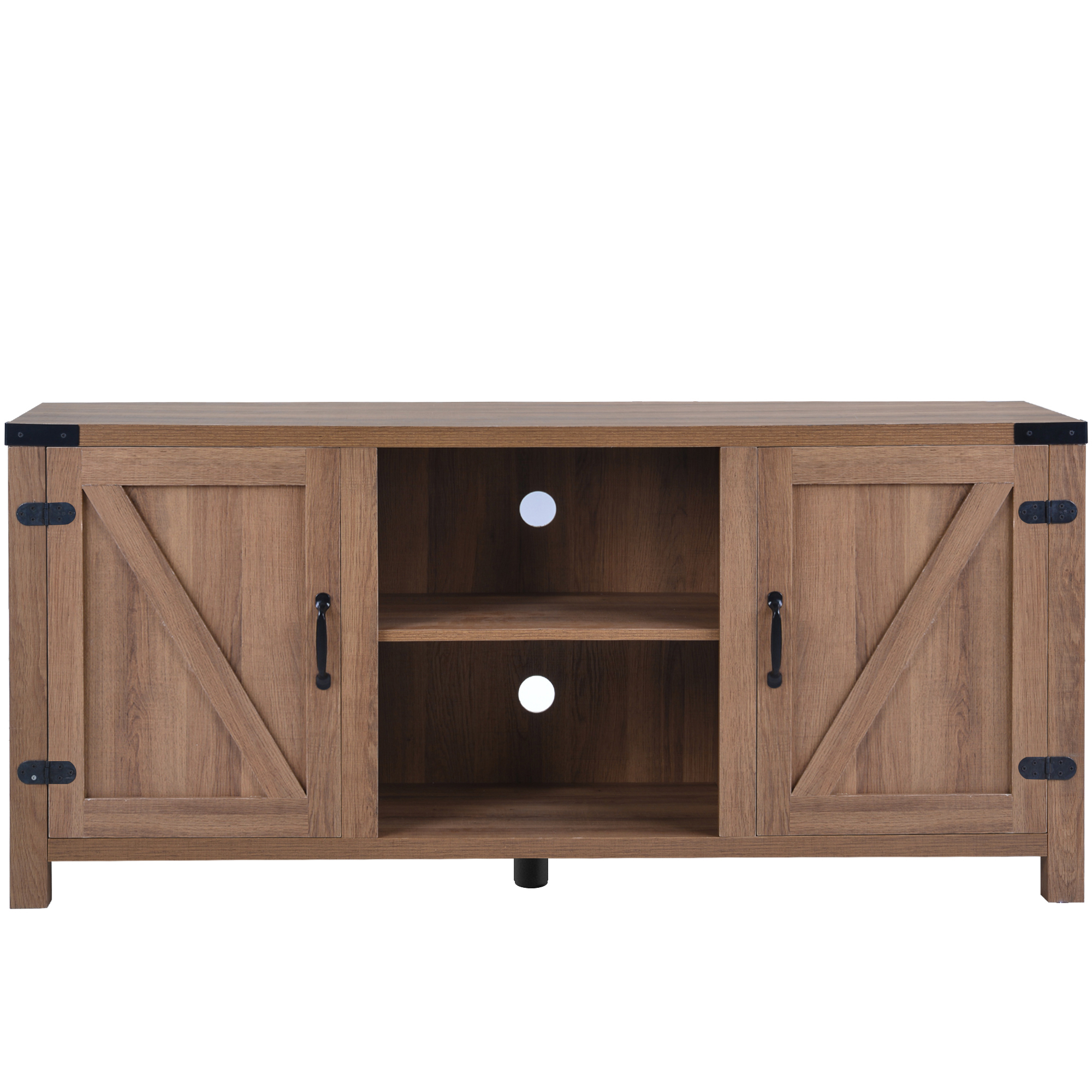 """Farmhouse 58'' Tv Stands With Adjustable Leg, Segmart Regarding Famous Kamari Tv Stands For Tvs Up To 58"""" (View 18 of 25)"""