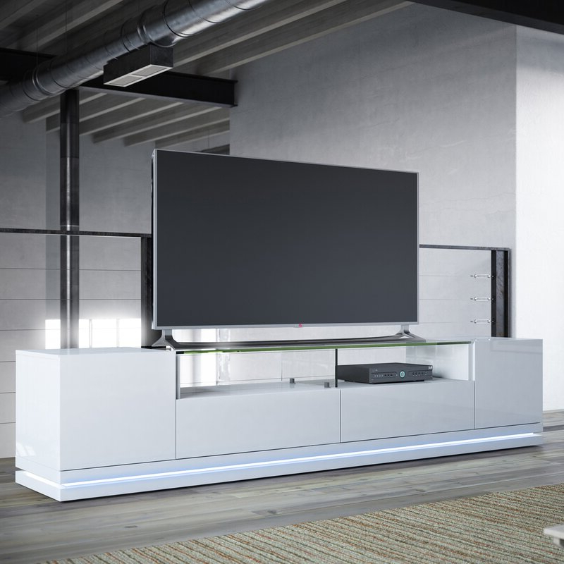 """Fashionable Ailiana Tv Stands For Tvs Up To 88"""" Inside Latitude Run Lasker Tv Stand For Tvs Up To 88 Inches (View 16 of 25)"""
