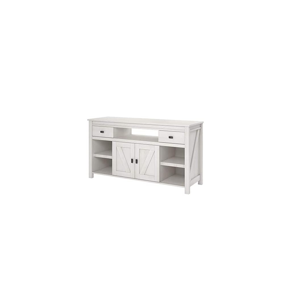Fashionable Ameriwood Home Farmington Tv Stand, Ivory Oak – Cute Decor Pertaining To Compton Ivory Extra Wide Tv Stands (View 6 of 25)