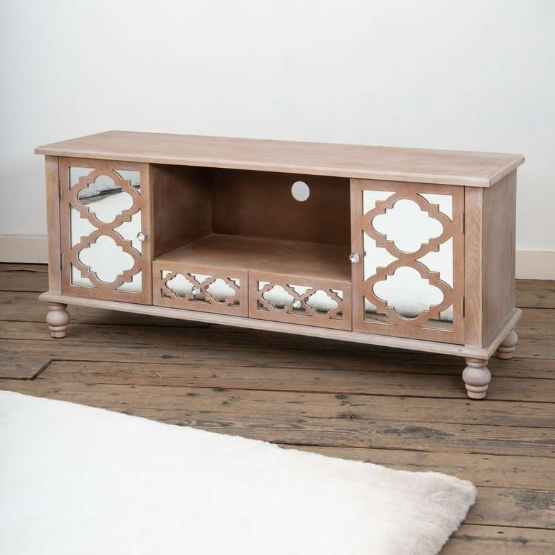 Fashionable Montvert Mirrored Tv Stand For Loren Mirrored Wide Tv Unit Stands (View 6 of 10)