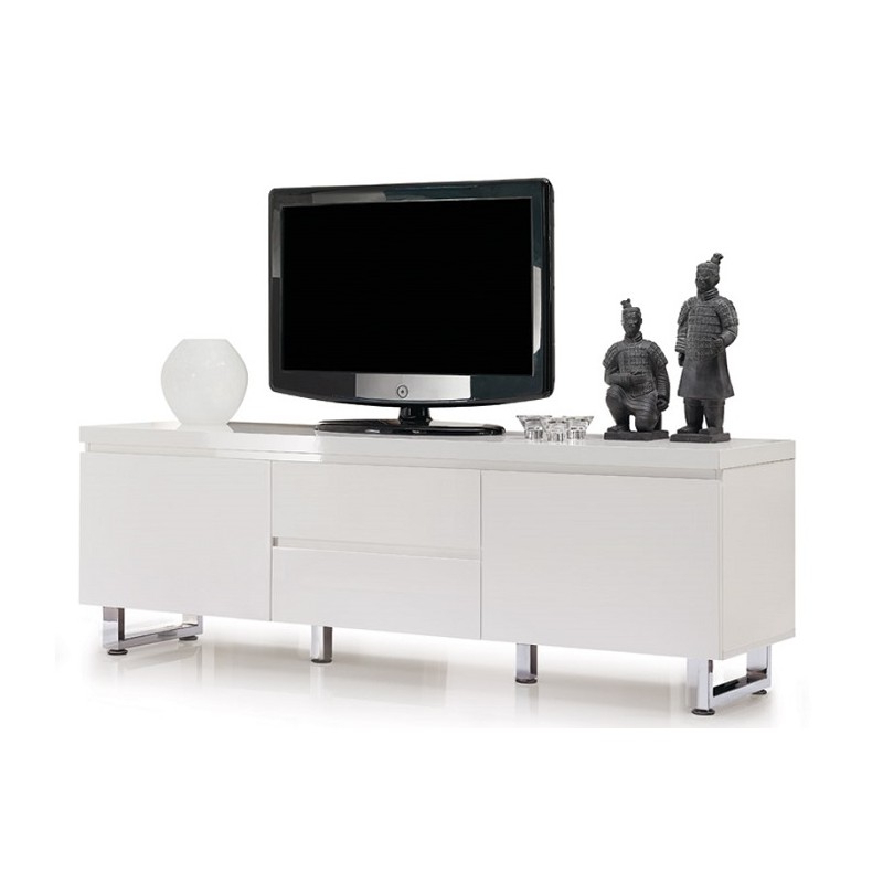 Fashionable Santiago Tv Stands With Regard To Sydney Iii – High Gloss Tv Unit – Tv Stands (372) – Sena (View 4 of 10)