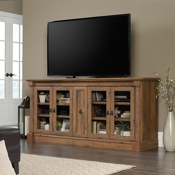 Fashionable Sauder (422001) Vine Crest Tv Stand / Credenza (View 13 of 25)