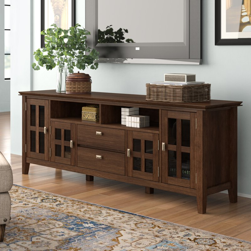 """Fashionable Solid Wood Tv Stands For Tvs Up To 65"""" Intended For Three Posts Gosport Solid Wood Tv Stand For Tvs Up To  (View 16 of 25)"""