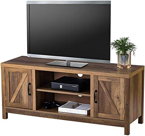 Fashionable Tv Stands In Rustic Gray Wash Entertainment Center For Living Room With Regard To New Choochoo Rustic Tv Stand, Barnwood Entertainment (View 3 of 10)