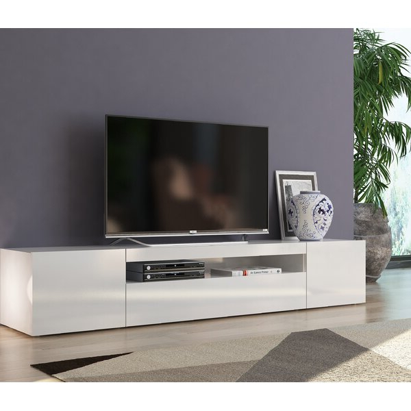 """Favorite Ailiana Tv Stands For Tvs Up To 88"""" In Orren Ellis Cribbs Tv Stand For Tvs Up To 88"""" & Reviews (View 1 of 25)"""