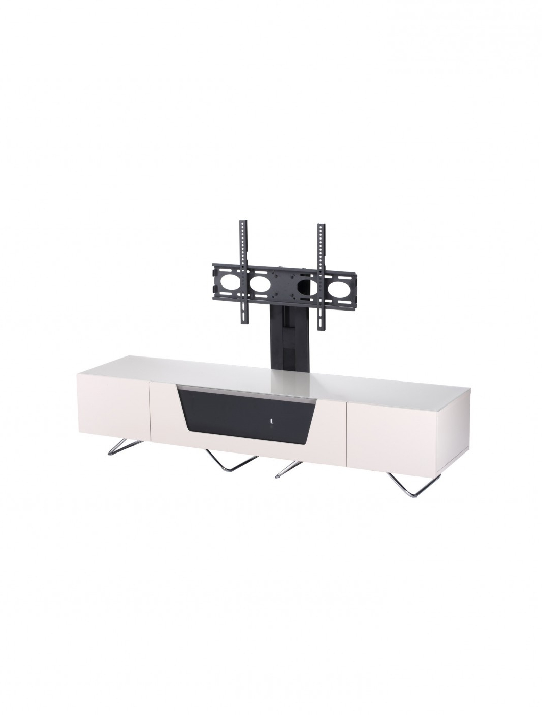 Favorite Alphason Chromium Cantilever Tv Stand Cro2 1600bkt Iv For Chromium Tv Stands (View 25 of 25)