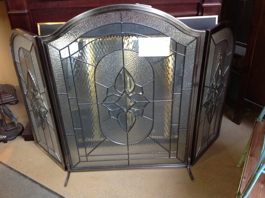 Favorite Amazing Stained Glass Fireplace Screen Designs With With Better Homes & Gardens Modern Farmhouse Tv Stands With Multiple Finishes (View 5 of 10)